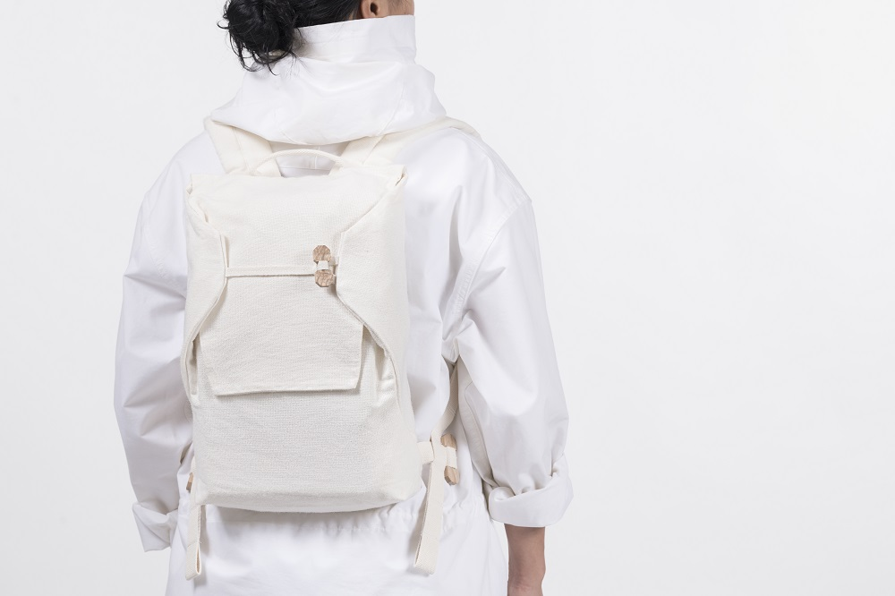 Backpack from the Collection of tomorrow from Spinnova and Bergans