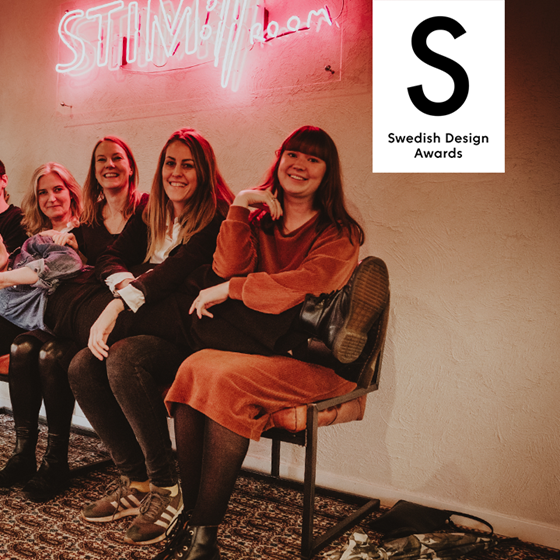 Stim Music Room nominerat i Design S – Swedish Design Awards 2020!